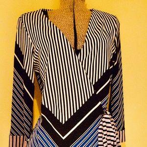 DVF Diane von Furstenberg Wrap Dress Sz 12 (like 4